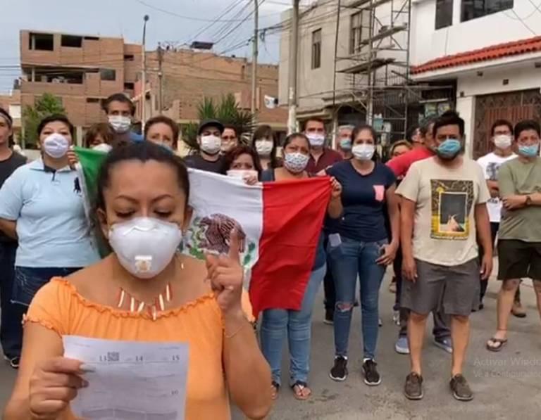 ACUSAN MEXICANOS INDIFERENCIA DE EMBAJADA DE PERÚ