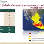 DISMINUYEN INCENDIOS FORESTALES EN MÉXICO