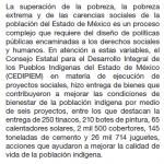 Olvida Edomex a pueblos indígenas